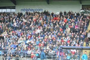 Fans at Promotion Final