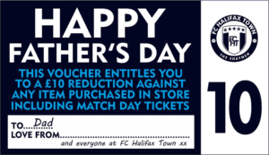 Father's Day Voucher