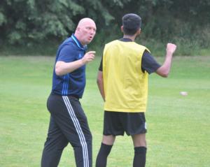 Billy Heath training