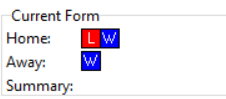 Dover Current Form