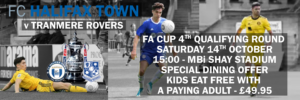 FA CUP TRANMERE DINING