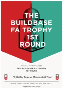 FA trophy Advert