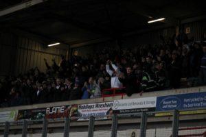 Fans At Wrexham